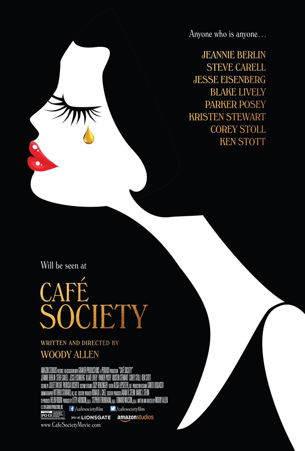 Woody Allen's 'Cafe Society' to Open Seattle International Film Festival