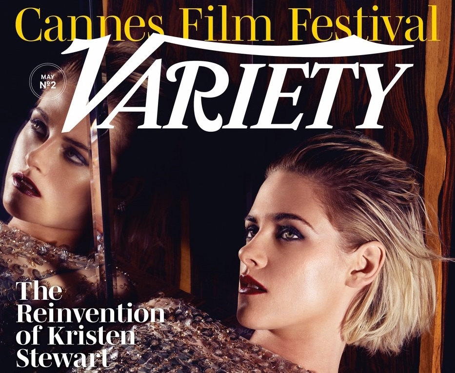 Kristen is on the cover of Variety Magazine