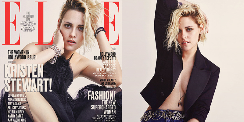 Kristen graces the Women in Hollywood ELLE USA cover – November 2016
