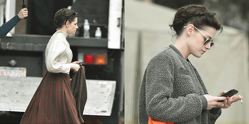 Candids – On the Set of #Lizzie – December 5th to 9th, 2016